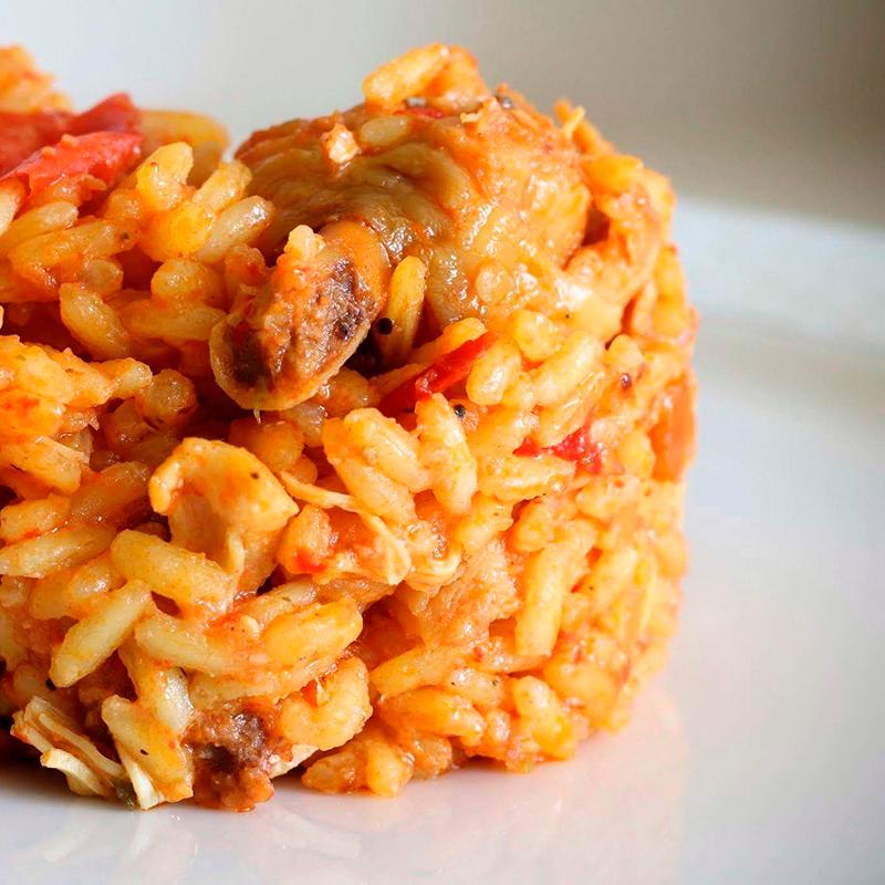 Paella cafeteria galaica